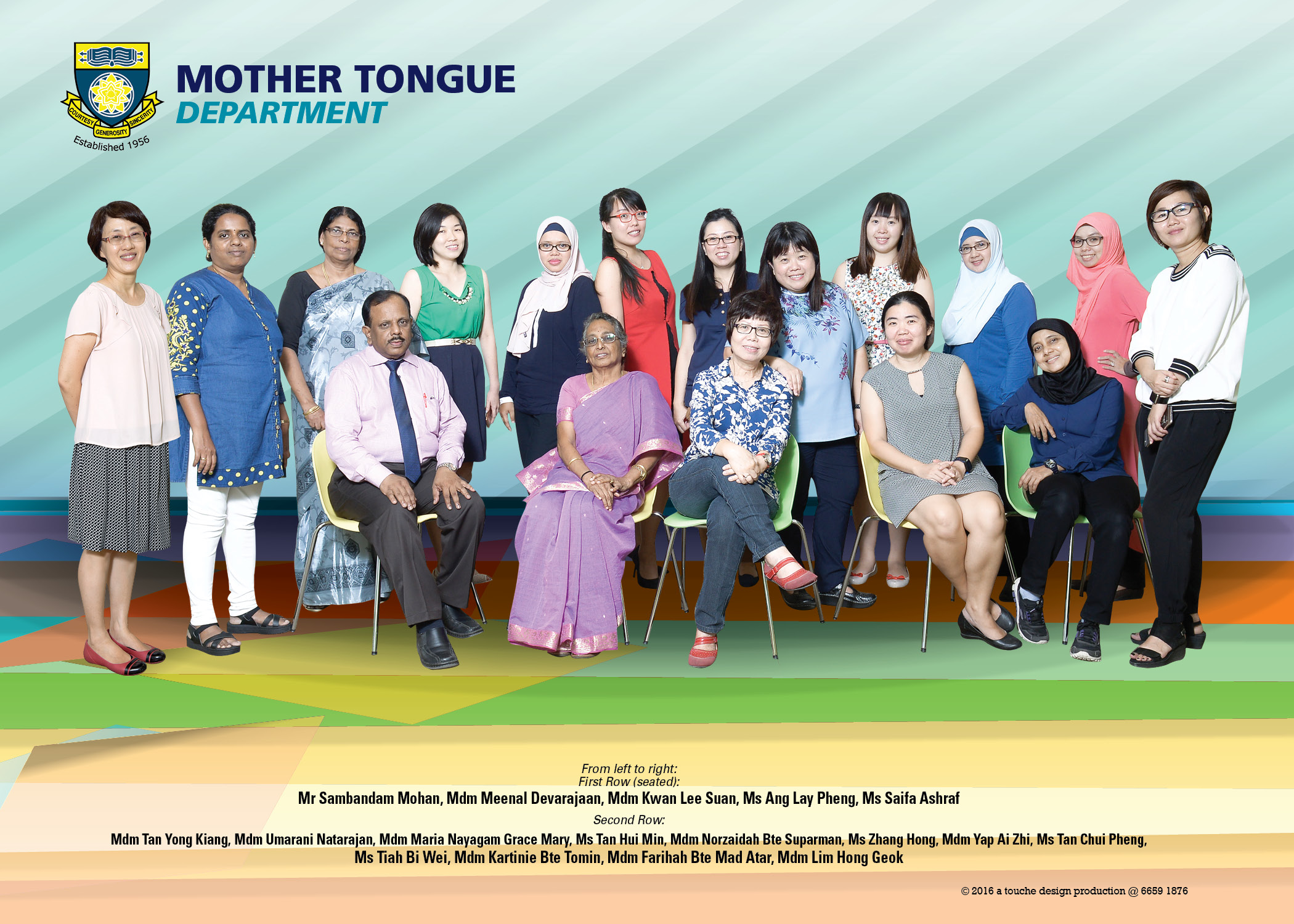 mother tongue languages department